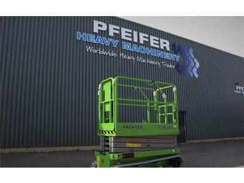 Schaarlift FRONTEQ FS0610T New, CE Declaration, 8m Working He