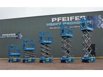 Schaarlift Genie GS1330M All-Electric DC Drive, 5.9m Working Height