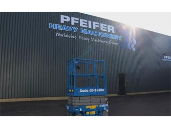Schaarlift Genie GS1330M Valid inspection, *Guarantee! All-Electric