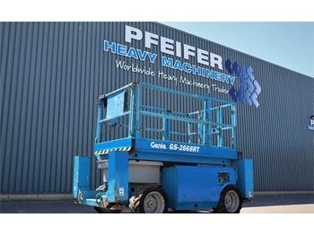 Schaarlift Genie GS2668RT Diesel, 4x4 Drive, 10m Working Height, Ro