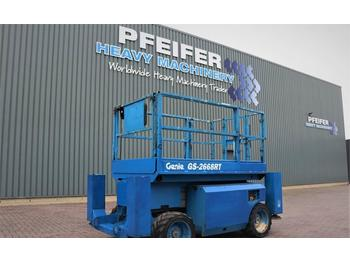Schaarlift Genie GS2668RT Diesel, 4x4 Drive, 10m Working Height, Ro