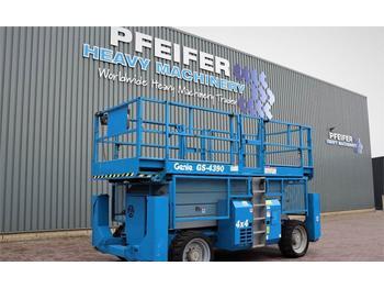 Schaarlift Genie GS4390RT Diesel, 4x4 Drive, 15.11m Working Height,