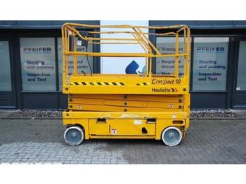 Schaarlift Haulotte COMPACT 10 Electric, 10.2 m Working Height.