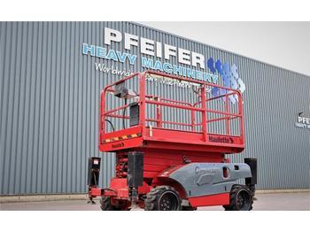 Schaarlift Haulotte COMPACT 12DX Diesel, 4x4 Drive, 12.2m Working Heig
