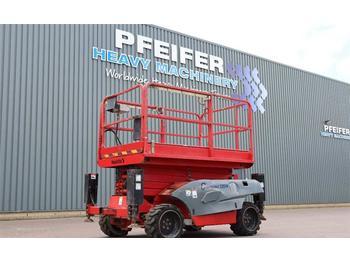 Schaarlift Haulotte COMPACT 12DX Diesel, 4x4 Drve, 12.2m Working Heigt