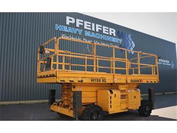 Schaarlift Haulotte H15SXL Diesel, 4x4 Drive, Mega Deck, 15m Working H