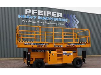 Schaarlift Haulotte H15SXL Valid inspection, *Guarantee! Diesel, 4x4 D