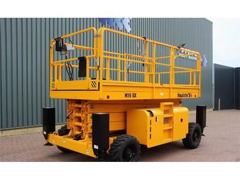 Schaarlift Haulotte H15SX Diesel, 4x4 Drive, 15m Working Height., Roug