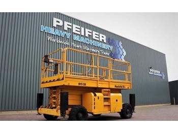 Schaarlift Haulotte H15SX Diesel, 4x4 Drive, 15m Working Height, Rough