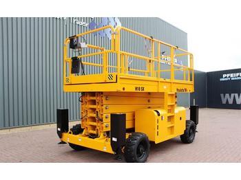 Schaarlift Haulotte H18SX Diesel, 4x4 Drive, 18 m Working Height, Roug