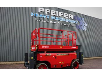Schaarlift Magni DS1218RT New And Available Directly From Stock, Di