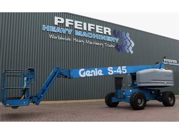 Telescoophoogwerker Genie S45/4WD Diesel, 4x4 Drive, 15.7m Working Height, J