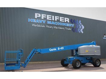 Telescoophoogwerker Genie S45/4WD Valid inspection, *Guarantee! Diesel, 4x4
