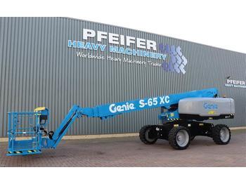 Telescoophoogwerker Genie S65XC Diesel, 4x4 Drive, 21.8m Working Height, 16.