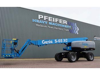 Telescoophoogwerker Genie S65XC Diesel, 4x4 Drive, Xtra Capacity 454 kg, 22m