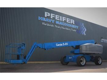 Telescoophoogwerker Genie S65 4WD Valid inspection, *Guarantee! Diesel, 4x4