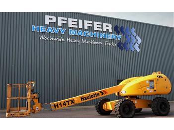 Telescoophoogwerker Haulotte H14TX Diesel, 4x4 Drive, 14,07m Working Height, 10
