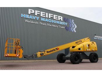 Telescoophoogwerker Haulotte H21TX Diesel, 4x4 Drive, 20.85m Working Height, 17