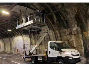 Vrachtwagen hoogwerker Comet Solar 15 New, 15m Working Height, 4m Reach, 400kg