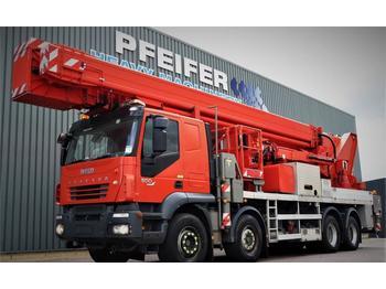 Vrachtwagen hoogwerker Multitel J2-365 TA 8x4x4 Drive, 66m Working Height, 33m Rea