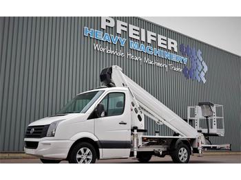 Vrachtwagen hoogwerker Ruthmann TB270.3 Driving Licence B/3. Volkswagen Crafter TD