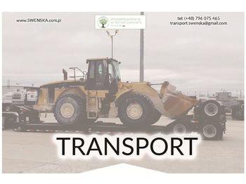 Wiellader CATERPILLAR Transport maszyn, uczciwe stawki. Zadzwoń 577. 011. 156