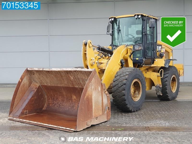 wiellader Caterpillar 938K GERMAN DEALER MACHINE - HIGH TIP BUCKET