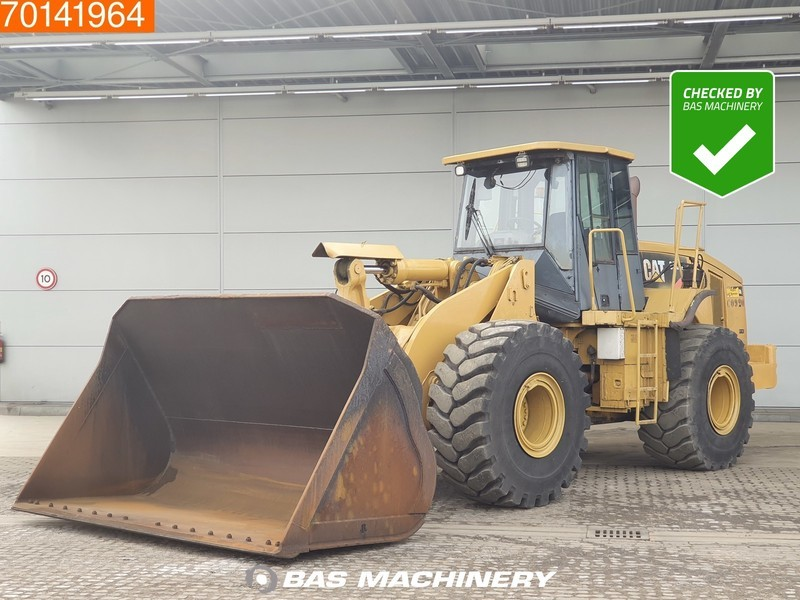 wiellader Caterpillar 966H FULL STEERING - 80% TYRES