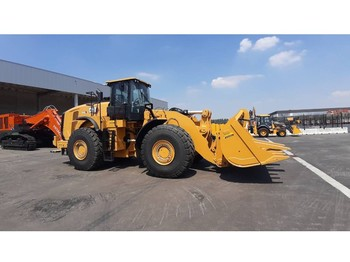 Wiellader Caterpillar 980 L (unused with QC, bucket and forks)