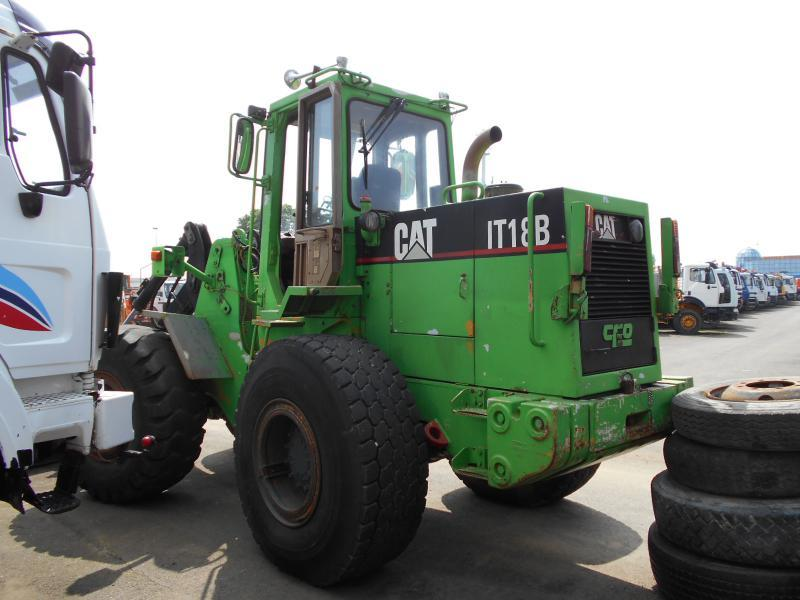 wiellader Caterpillar IT18B