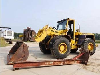 Wiellader Hanomag 55C Good working condition