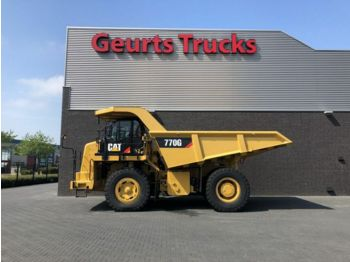 CAT 770 G DUMP TRUCK ONLY 3890 HOURS LIKE NEW  - zelfrijdende kiepwagen