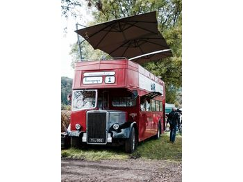 Leyland PD3 British Double Decker Bus Open Top Deck Pub Bar Hospitality - dubbeldeksbus