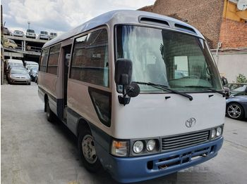 TOYOTA coaster ... japan made - not china .... BELGIUM.. - minibus