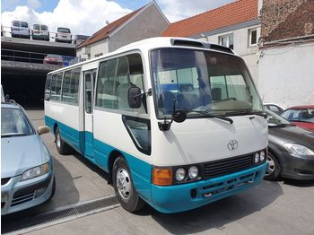 TOYOTA Coaster ....Japan made - not china ........ BELGIUM ... - streekbus
