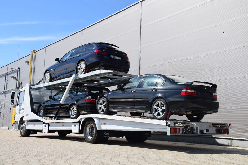 Mercedes Benz Atego 1222 L Doppelstockaufbau Neu Fur 3 Autos
