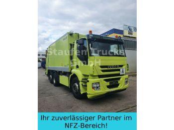 Vuilniswagen Iveco Stralis AD 260S36 ZÖELLER Pressmüll