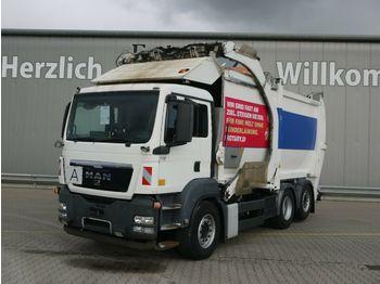 Vuilniswagen MAN TGS 26.360 6x2-2 BL*HN-Schörling*Lift/Lenk*Klima