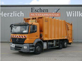 Vuilniswagen Mercedes-Benz 2529L 6x2 Axor*Haller 24m³*Zöller Schüttung*AC