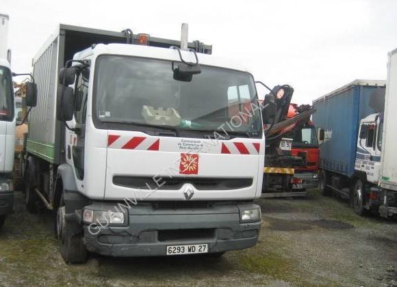 vuilniswagen Renault Premium 260