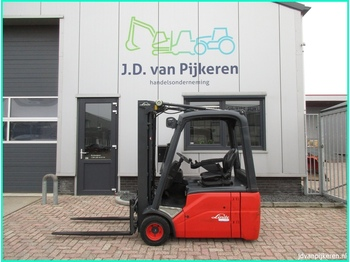 Linde E18 386 triplex freelift sideshift! - driewielige vorkheftruck