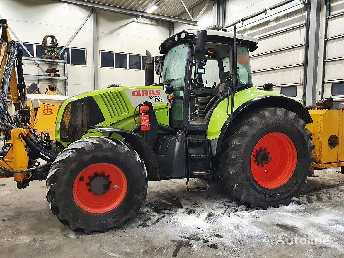 landbouw tractor CLAAS Axion 820 *4x4*9000h*2009*