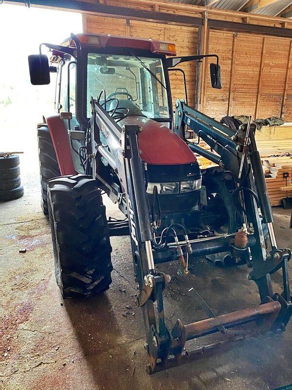 landbouw tractor CLAAS IH JX1090U *4x4*Front loader*6000H*