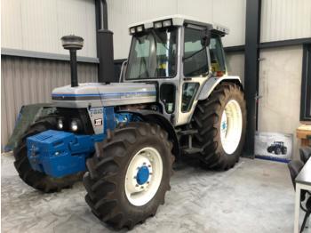 Landbouw tractor Ford 7810111 silver nr 80