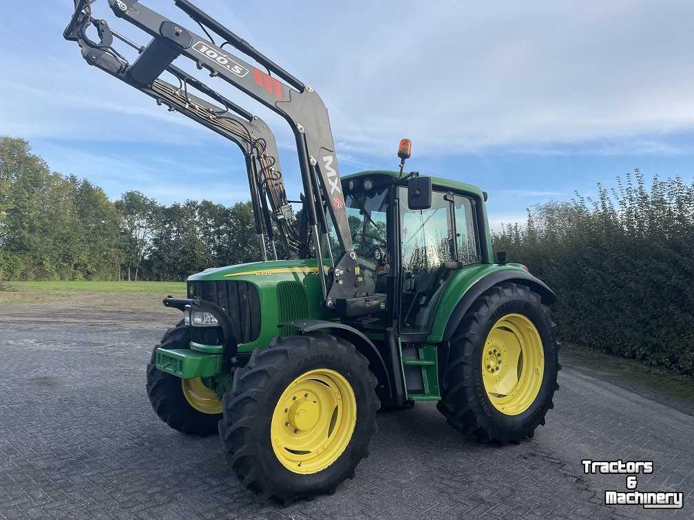 landbouw tractor John Deere 6320 premium, tls, airco