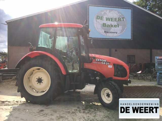 landbouw tractor Zetor proxima 6421
