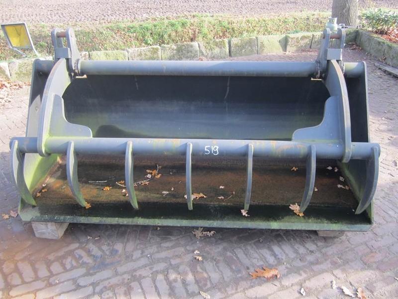 veeteelt materiaal Voerklem 2,00 mtr - Tine grab/Greifschaufel