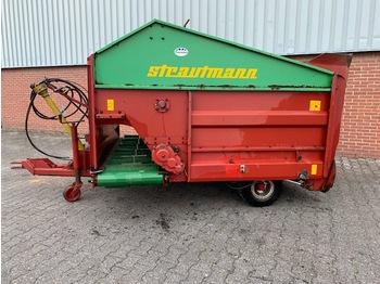 Voermengwagen  Strautmann BVW Blokkenwagen