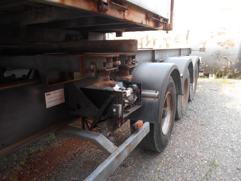 containertransporter/ wissellaadbak oplegger Asca