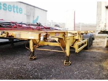 Containertransporter/ wissellaadbak oplegger Castera